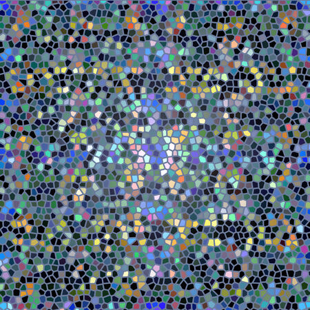 mottled: abstract mottled mosaic surface Stock Photo