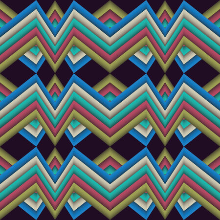 motley: abstract pattern broken line motley