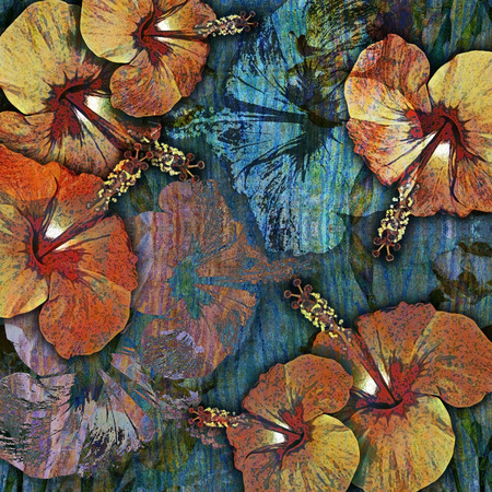 motley: decoration motley  tropical floral background