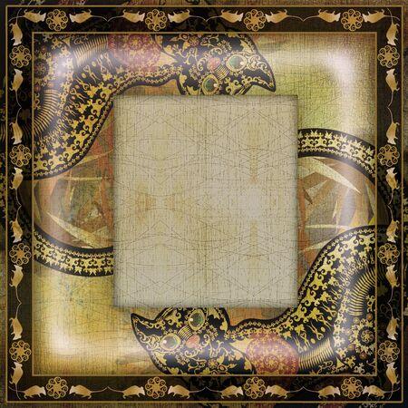 motley: decoration motley animal pattern,exotic frame,african motif