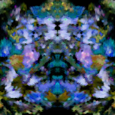 motley: decoration abstract floral background, motley