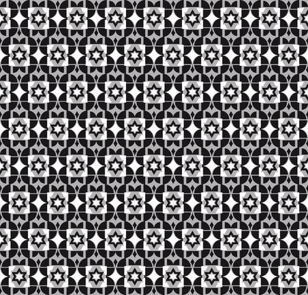 geometrical: geometrical pattern  on grey background Illustration