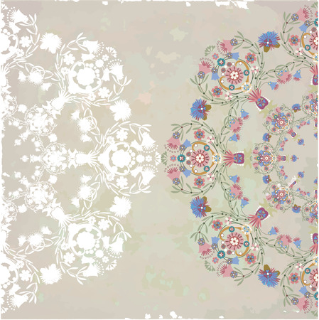 provence: pastel pattern pink on spotty background,Provence motif