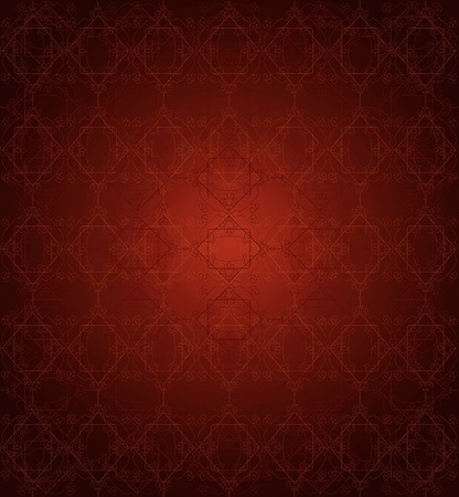 somber: seamless red lace pattern on dark red background