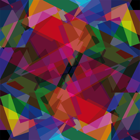 acute: abstract colored mosaic, geometrical background Illustration
