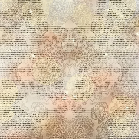 israeli: stylized stars Israeli pattern on patterned background