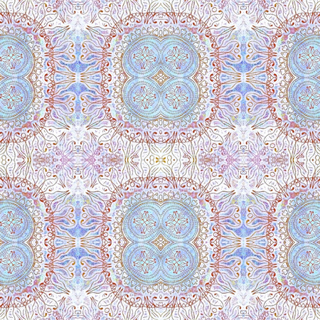 abstract old shabby ethnic pastel  pattern