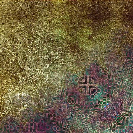 metalic: geometric pattern granular background, metalic imitation
