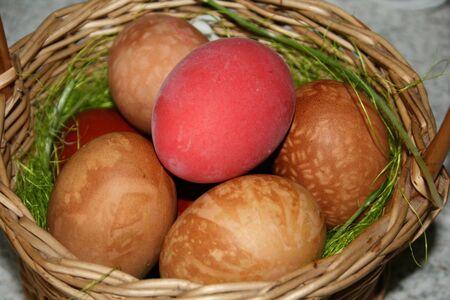 decode: easter eggs in punnet