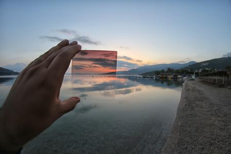 gradual: los puntos de vista de filtro nd gradual