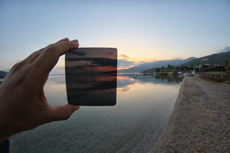 gradual: the differences between using nd filter or not use