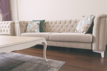 country living: Soft Elegance vintage Country Style sofa tv unit and living room saloon
