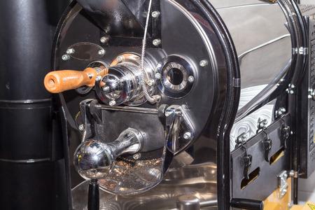 empty coffee roaster without coffee Foto de archivo