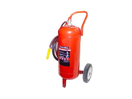 additional chemicals: Isolated Industrial Fire extinguisher for factory Stock Photo