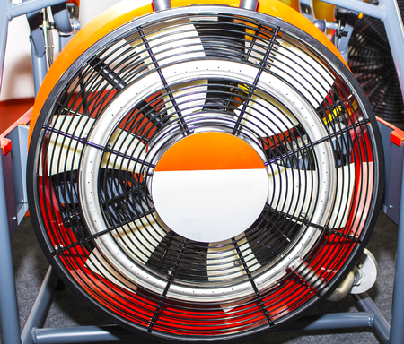 electric grid: Industrial Fan With its protective grid