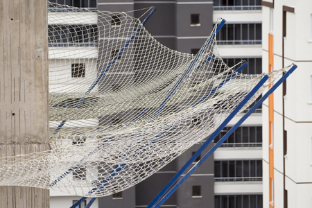 safety net: Construction Safety Net Around the Construction