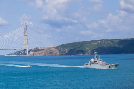 battleship: Battleship view from sunny day