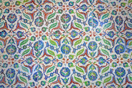 Azulejos de cerámica oriental de Estambul