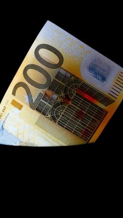acirc: Two hundred euro money Stock Photo