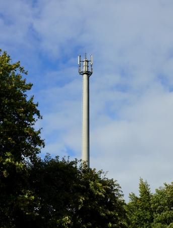 mobile radio antenna Stock Photo - 15939047