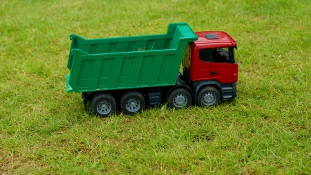 Toy car truck Imagens