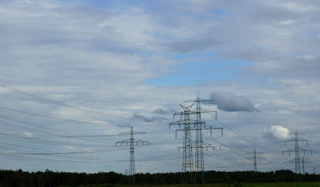 energy suppliers: Power lines for electricity
