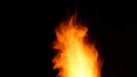orange-fire-flame Stock Photo - 18180008