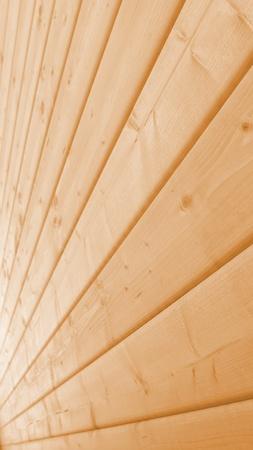 Light wooden wall