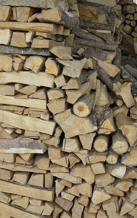 especially stacked firewood photo