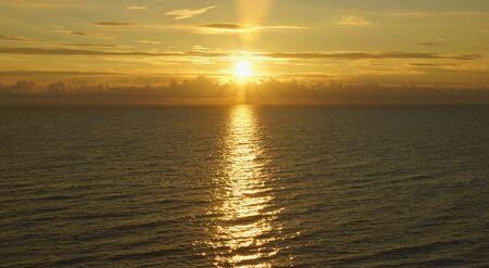 Beautiful sunset in Baltic