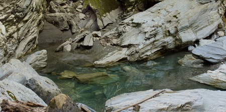 beautiful coldwater in the mountains and canyons