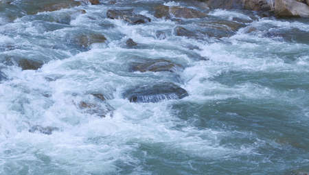 Rapid River and large stones