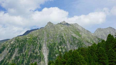 no snow: nice big mountain