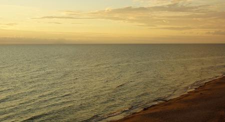 Beautiful evening at the Baltic Sea and beach Stock fotó