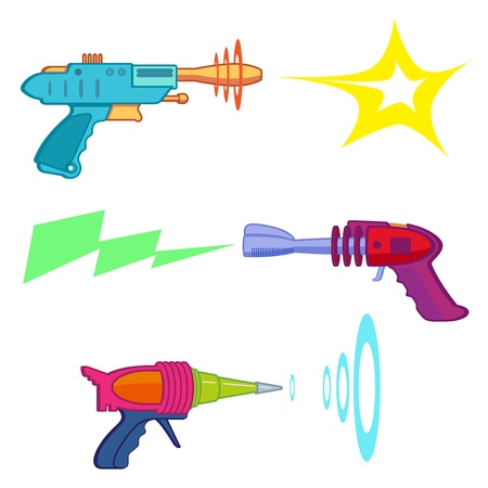 ray gun arsenal Stock Vector - 14359365