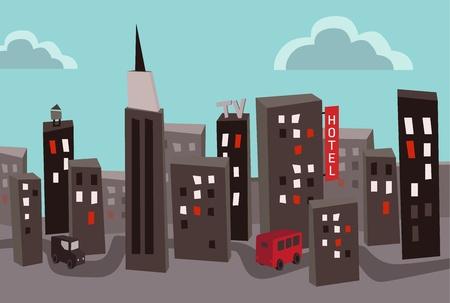 smoke stack: Heavy capitale inquinata