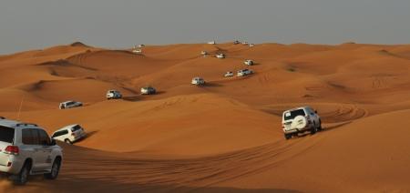 Jeep adventure trough the desert from Dubai photo