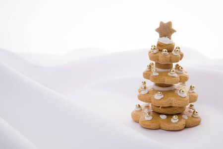 Gingerbread christmas tree Stock Photo - 2890928