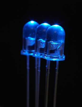 emitting: LED - light emitting diode