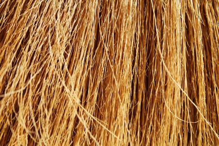 bundle: bundle of golden straw close-up. natural background