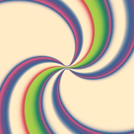 multicolored kaleidoscope, spiral from the center