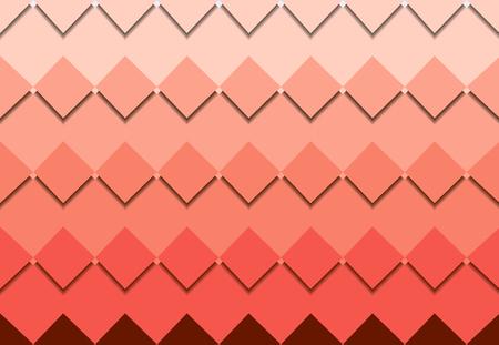 red square mosaic vector background corner design