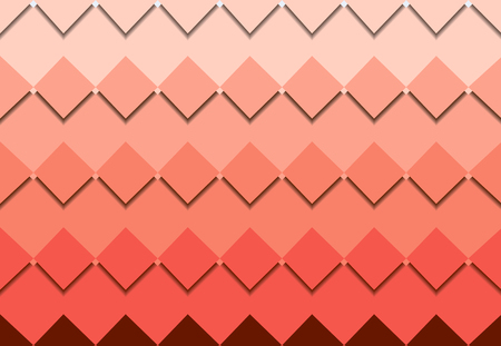 red square mosaic vector background corner design