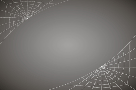 concentric web on a gray background