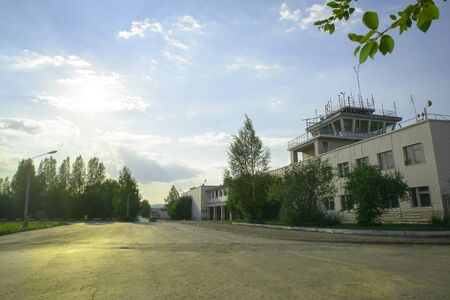 control tower: Control tower airport Uktus in Ekaterinburg
