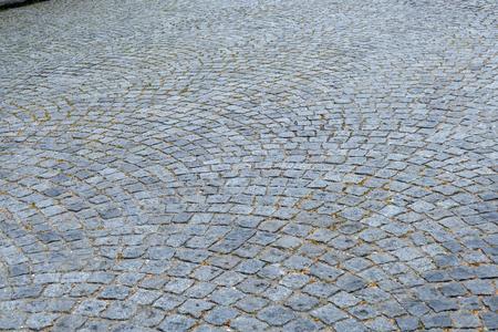 Paving of granite rocks. Background. Reklamní fotografie