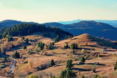 Rhodope Mountains, Bulgaria. Autumn landscape.
