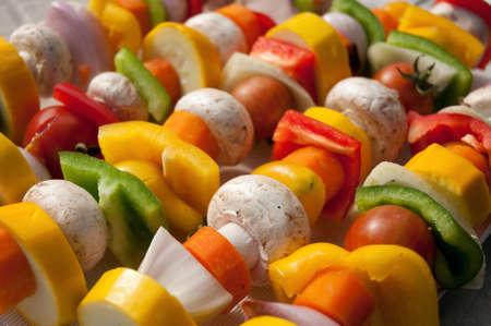 yellov: vegetable skewer