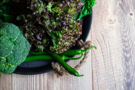 green leafy vegetables: dark green leafy vegetables