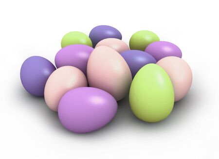 Colorful easter eggs Stock Photo - 9192317